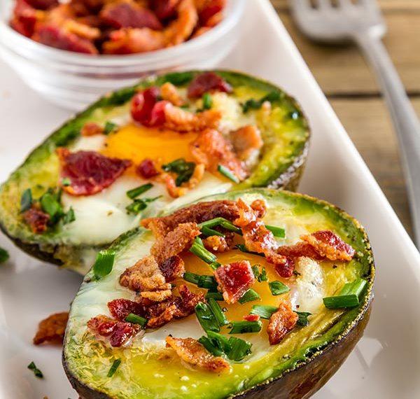 Baked Breakfast Avocado | Cocina Fresca Salsa
